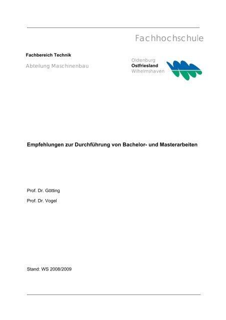pdf-Datei - Fachhochschule Oldenburg/Ostfriesland/Wilhelmshaven