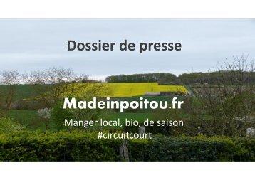 Dossier de presse Madeinpoitou.fr