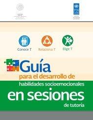 GUÍA PARA EL DESARROLLO DE HABILIDADES SOCIOEMOCIONALES EN SESIONES DE TUTORÍA
