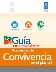 GUÍA PARA ESTABLECER ACUERDOS DE CONVIVENCIA EN EL PLANTEL