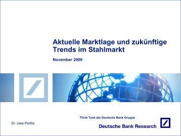 Präsentation: Aktuelle Marktlage und zukünftige Trends im Stahlmarkt