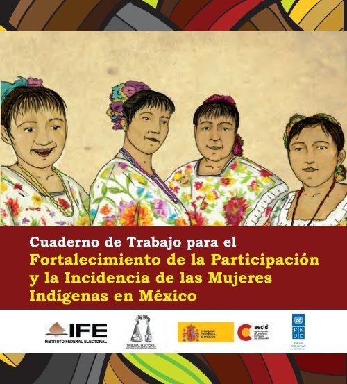 CUADERNO DE TRABAJO PARA EL FORTALECIMIENTO DE LA PARTICIPACIÓN Y LA INCIDENCIA DE LAS MUJERES INDÍGENAS EN MÉXICO