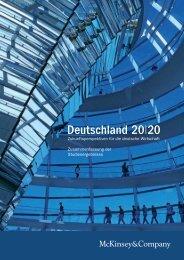 Deutschland 20 20 - Erfahrung Deutschland