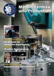 Freundeskreis - Department Maschinenbau und Produktion - HAW ...