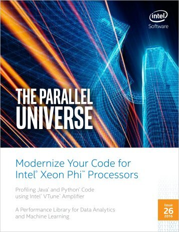 Modernize Your Code for Intel Xeon Phi Processors