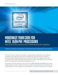 Modernize Your Code for Intel Xeon Phi Processors - Page 4