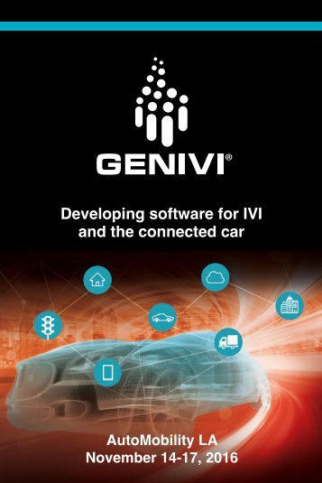 Developing software for IVI and the connected car
