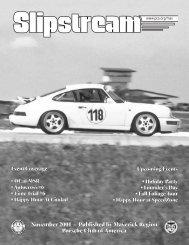 Slipstream - November 2001