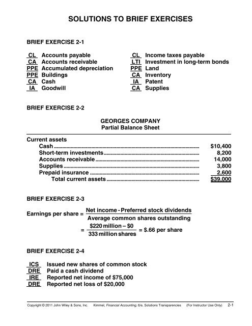 serial problem chapter 2 accounting