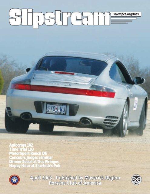 Slipstream - April 2003