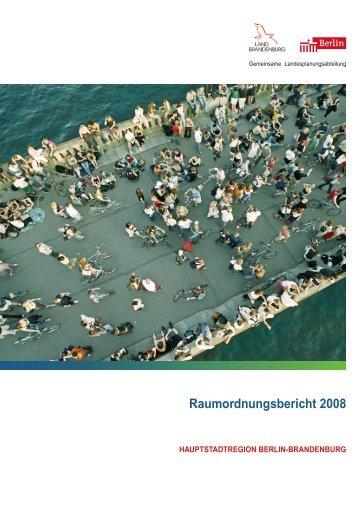 Raumordnungsbericht 2008 - Gemeinsame ...