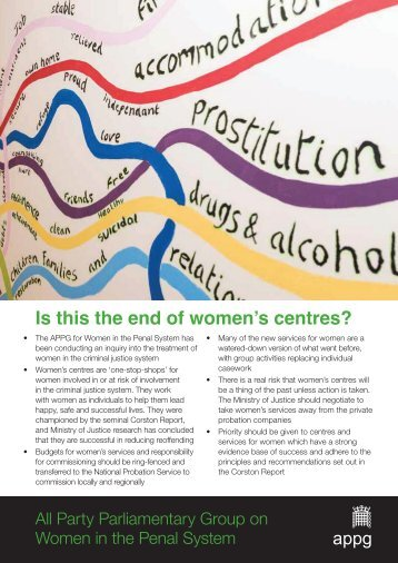 Is this the end of women's centres?