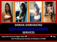 Hot Sexy Escorts in Pune by  Shikha Shirivastav