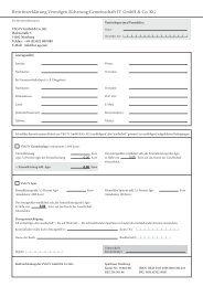 Beitrittserklärung Vermögen Sicherung Gemeinschaft IV GmbH ... - L'or
