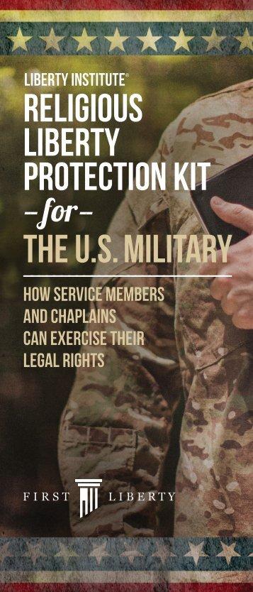 LIBERTY PROTECTION KIT THE U.S MILITARY