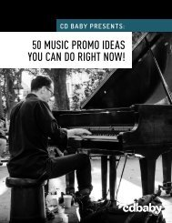 50 MUSIC PROMO IDEAS YOU CAN DO RIGHT NOW!