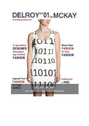 Delroy Mckay IT Age Certified Designer Clothing Fashion