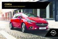 Opel Corsa Infotainment ManualMY 17.0 - Corsa Infotainment ManualMY 17.0 manuale