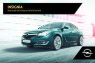 Opel Insignia Infotainment Manual MY 17.0 - Insignia Infotainment Manual MY 17.0 manuale