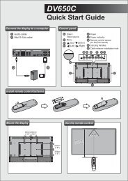 Acer DV650C - Quick Start Guide