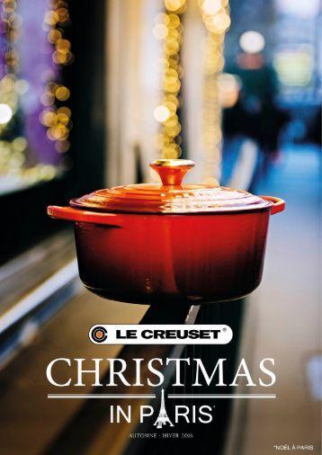 LE CREUSET Catalogue Christmas in Paris