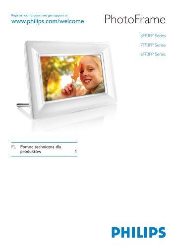 Philips Cadre Photo - Mode d'emploi - POL