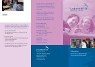 LHRV Flyer Offene Hilfen 12-11 - Lebenshilfe Rotenburg Verden
