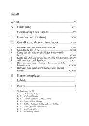 Inhalt - Walter de Gruyter