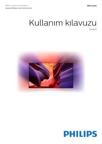 Philips AmbiLux Téléviseur ultra-plat 4K avec Android TV™ - Mode d'emploi - TUR