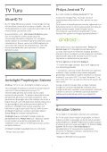 Philips AmbiLux Téléviseur ultra-plat 4K avec Android TV™ - Mode d'emploi - TUR - Page 4