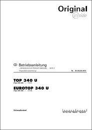 TOP 340 U - Alois Pöttinger Maschinenfabrik GmbH