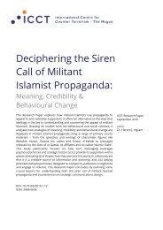 Deciphering the Siren Call of Militant Islamist Propaganda