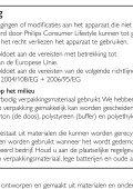 Philips Lecteur de DVD portable - Mode d'emploi - NLD - Page 7