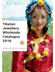 SURYA Tibetan Jewellery Wholesale Catalogue