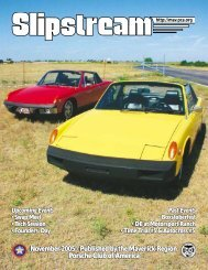 Slipstream - November 2005