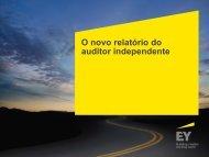 O novo relatório do auditor independente