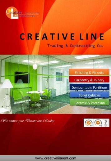 Creative Line Brochure