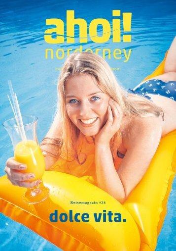 ahoi! norderney Magazin # 24