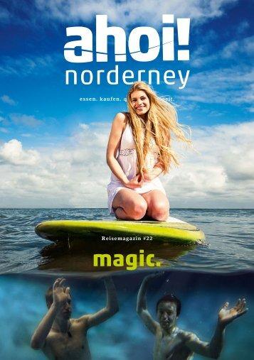 ahoi! norderney Magazin # 22