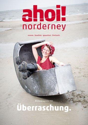 ahoi! norderney Magazin # 21