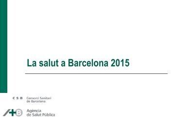 La salut a Barcelona 2015