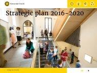 Strategic plan 2016-2020