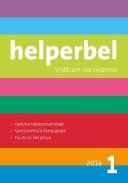 Helperbel 2016, nummer 1