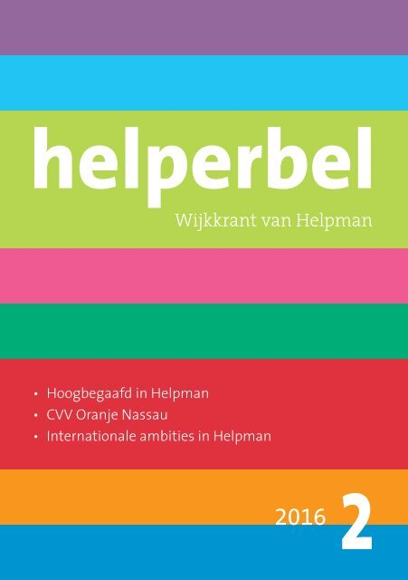 Helperbel 2016, nummer 2