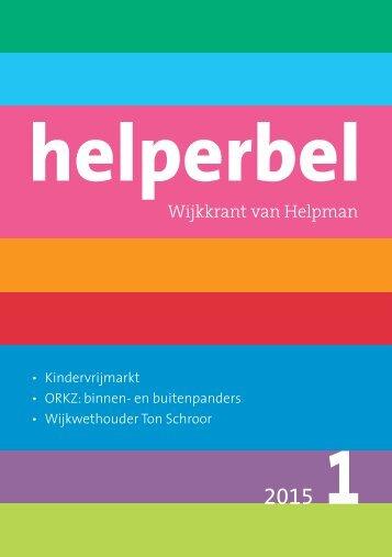 Helperbel 2015, nummer 1