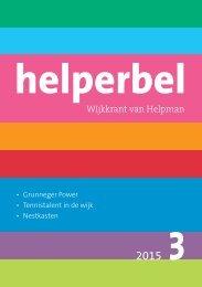 Helperbel 2015, nummer 3
