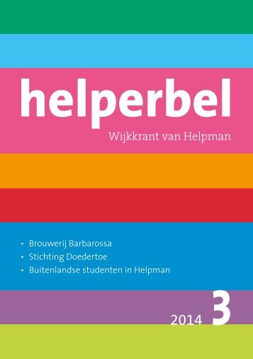 Helperbel 2014, nummer 3