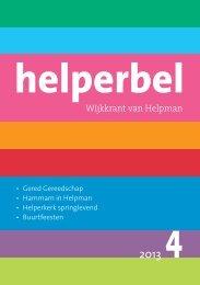 Helperbel 2013, nummer 4