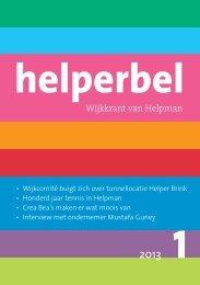 Helperbel 2013, nummer 1