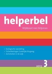 Helperbel 2013, nummer 3